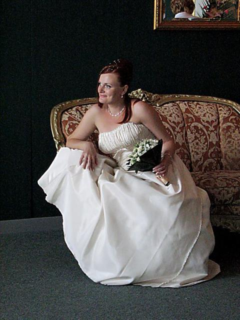 Как переделать свадебное платье в