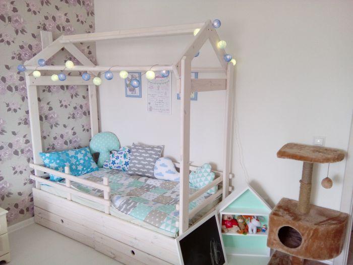Детская кровать домик для девочки своими руками 83